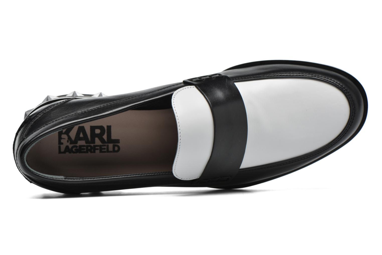 Slipper Karl Lagerfeld Pop Sneaker schwarz ansicht von links