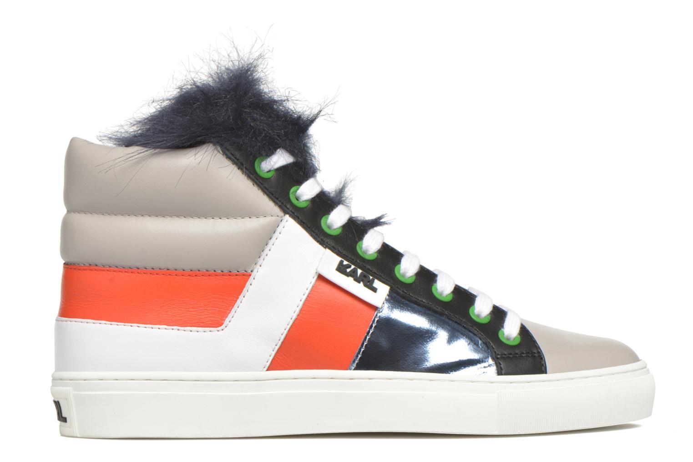 Baskets Karl Lagerfeld K Pop Glitter Creeper Multicolore vue derrière
