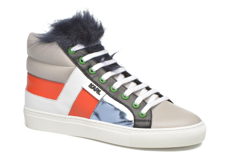 Baskets Karl Lagerfeld K Pop Glitter Creeper Multicolore vue détail/paire