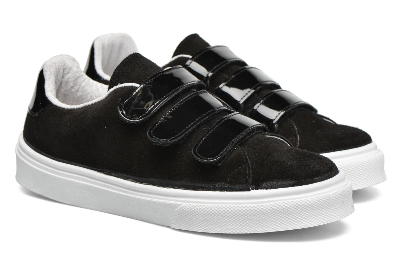 Sneaker Made by SARENZA Partygloo #1 schwarz ansicht von hinten
