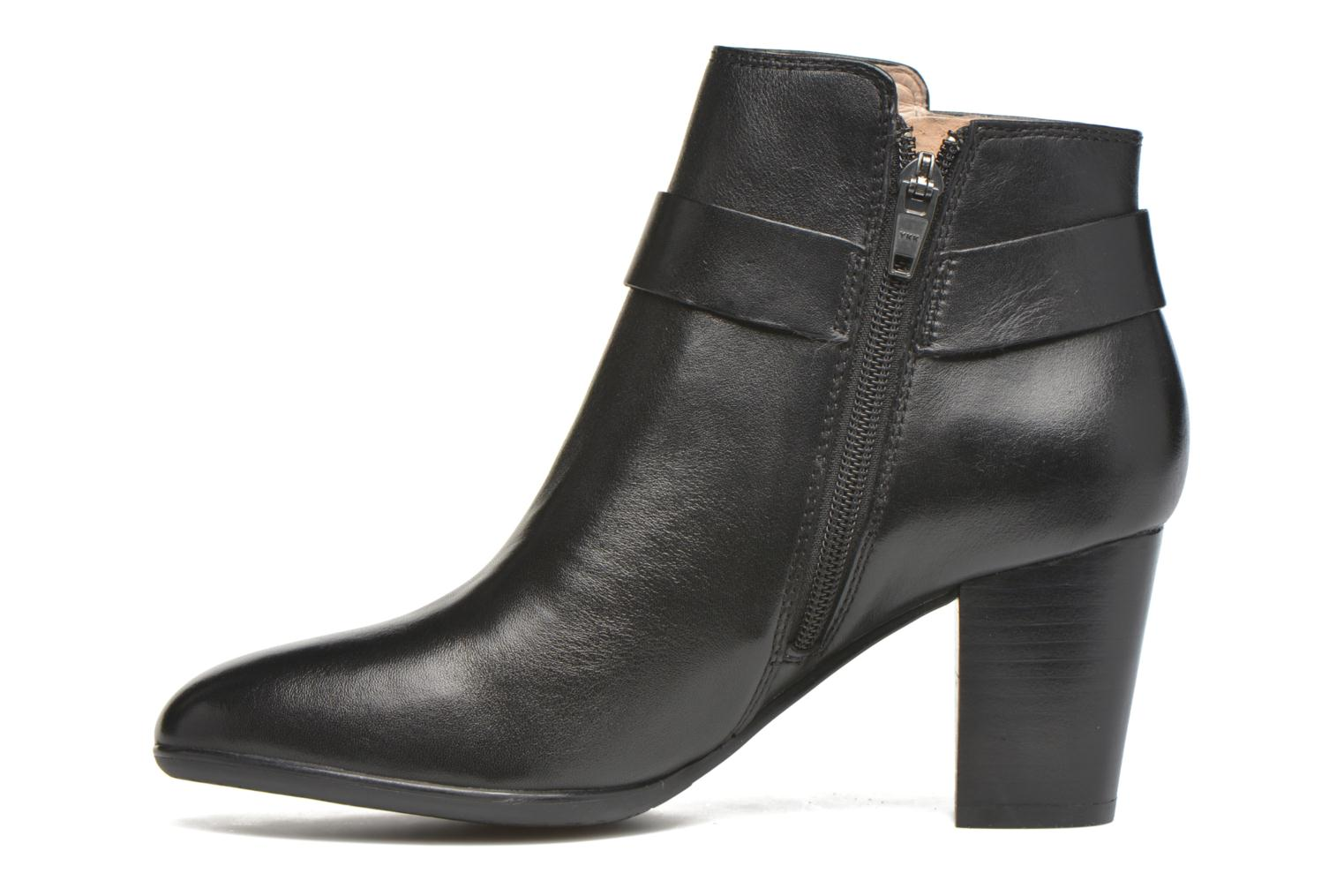 Bottines et boots JB MARTIN Catane Noir vue face