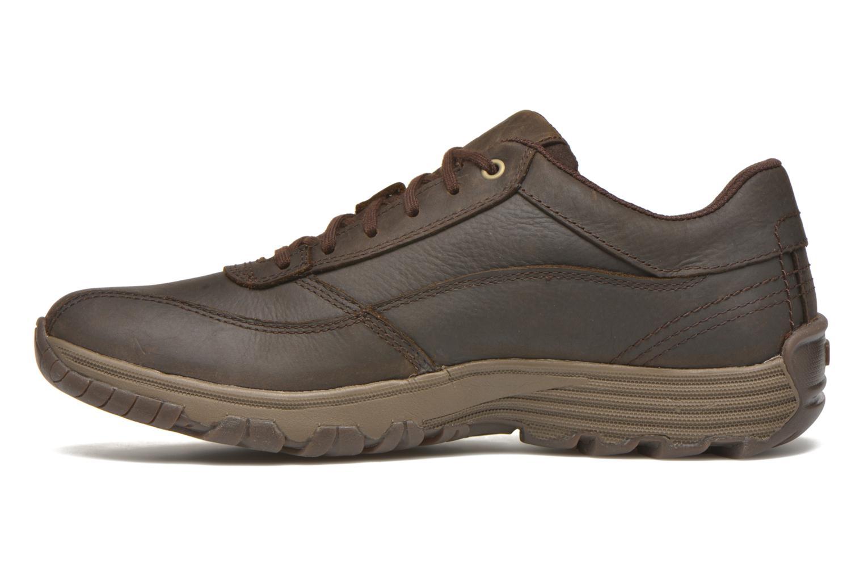 Chaussures à lacets Caterpillar Eon Marron vue face