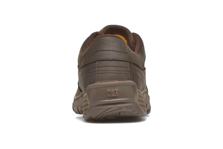 Zapatos con cordones Caterpillar Eon Marrón vista lateral derecha