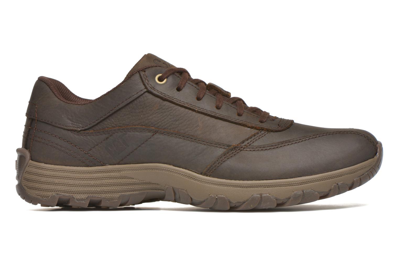 Zapatos con cordones Caterpillar Eon Marrón vistra trasera
