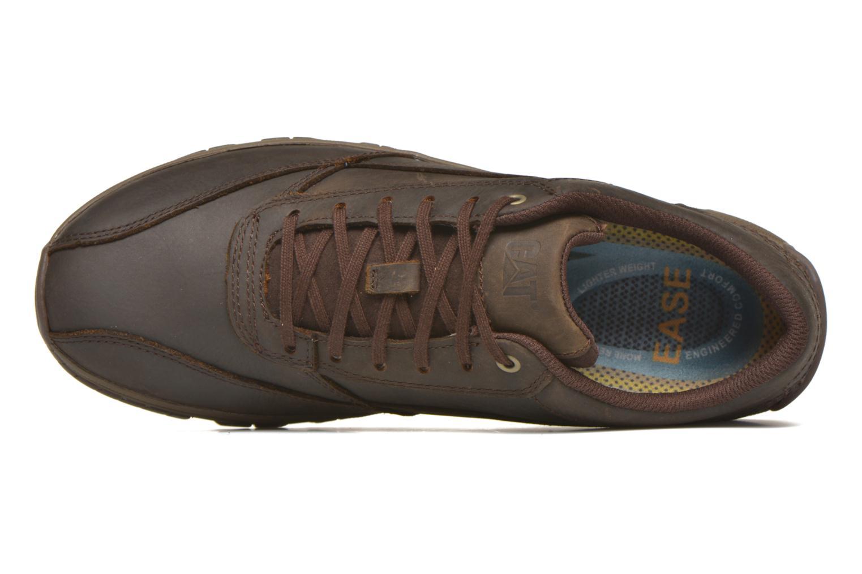 Zapatos con cordones Caterpillar Eon Marrón vista lateral izquierda