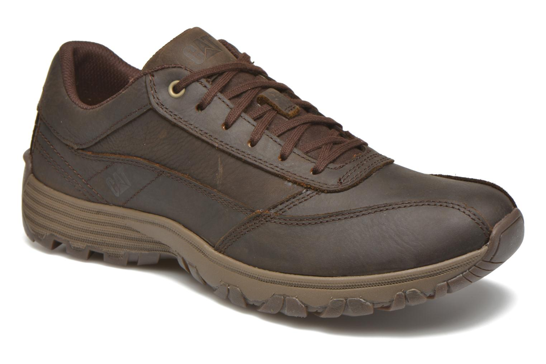 Zapatos con cordones Caterpillar Eon Marrón vista de detalle / par