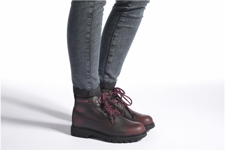 Chaussures à lacets Caterpillar Melody Noir vue bas / vue portée sac