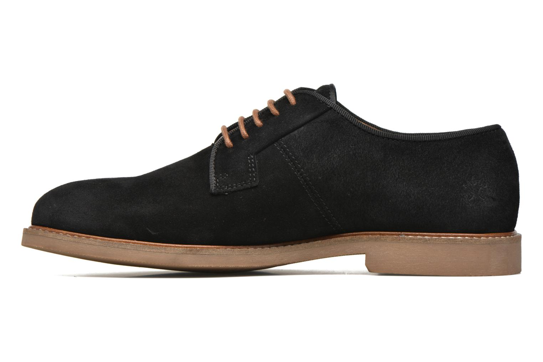 Chaussures à lacets Faguo Rohner 02 Noir vue face