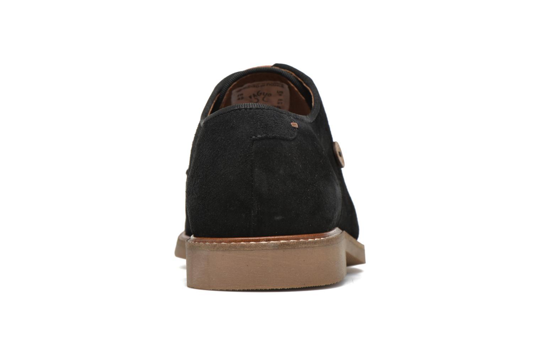 Chaussures à lacets Faguo Rohner 02 Noir vue droite