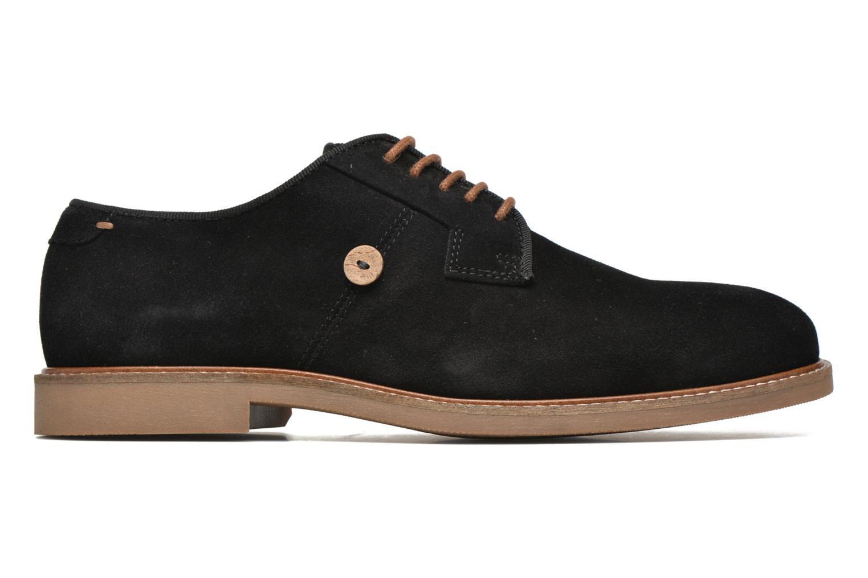 Chaussures à lacets Faguo Rohner 02 Noir vue derrière