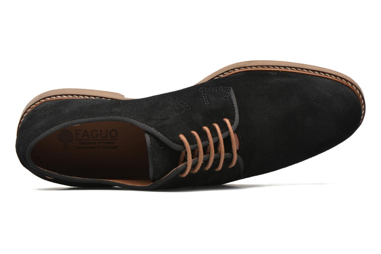 Chaussures à lacets Faguo Rohner 02 Noir vue gauche