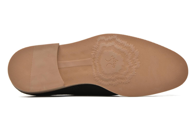 Chaussures à lacets Faguo Rohner 02 Noir vue haut