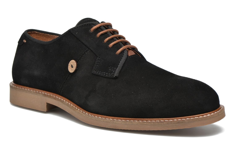 Chaussures à lacets Faguo Rohner 02 Noir vue détail/paire