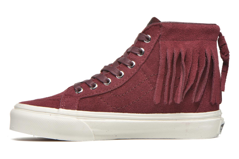 Sneakers Vans SK8-Hi Moc K Bordò immagine frontale