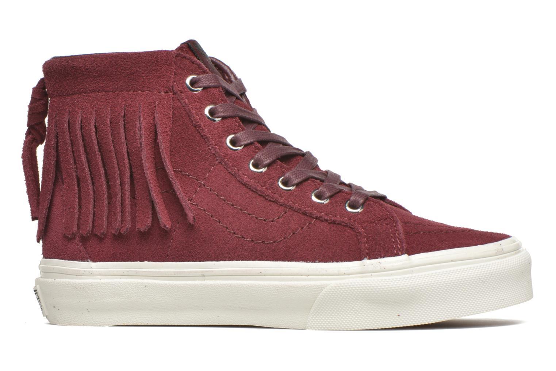 Sneakers Vans SK8-Hi Moc K Bordò immagine posteriore