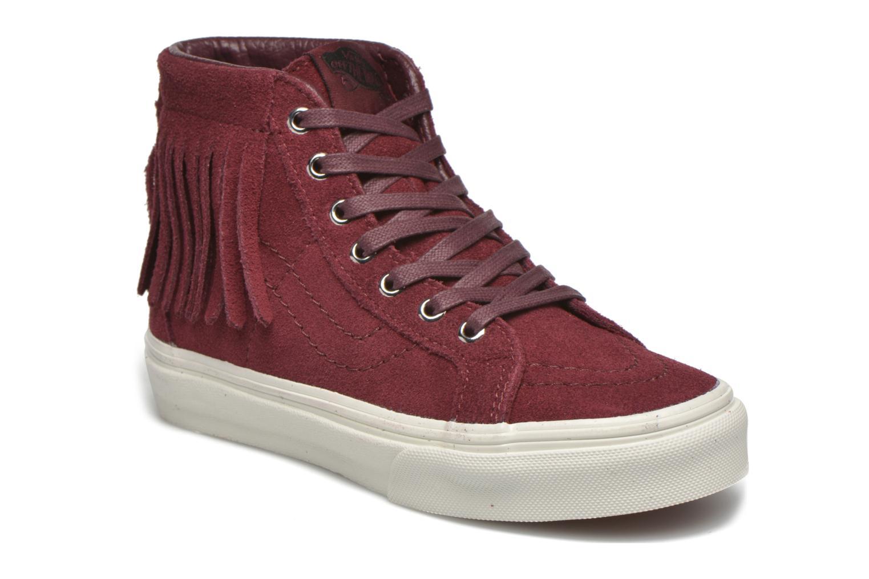 Sneakers Vans SK8-Hi Moc K Bordò vedi dettaglio/paio