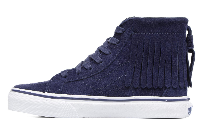 Sneakers Vans SK8-Hi Moc K Azzurro immagine frontale