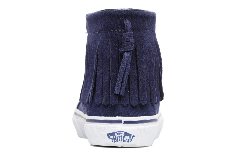 Sneakers Vans SK8-Hi Moc K Azzurro immagine destra
