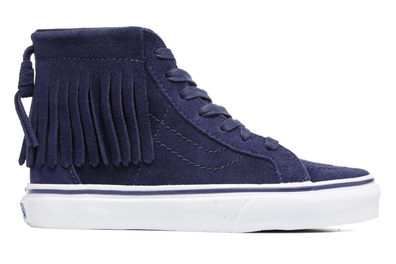 Sneakers Vans SK8-Hi Moc K Azzurro immagine posteriore