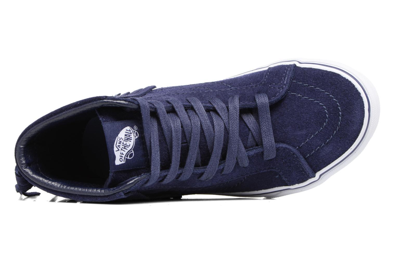Sneakers Vans SK8-Hi Moc K Azzurro immagine sinistra