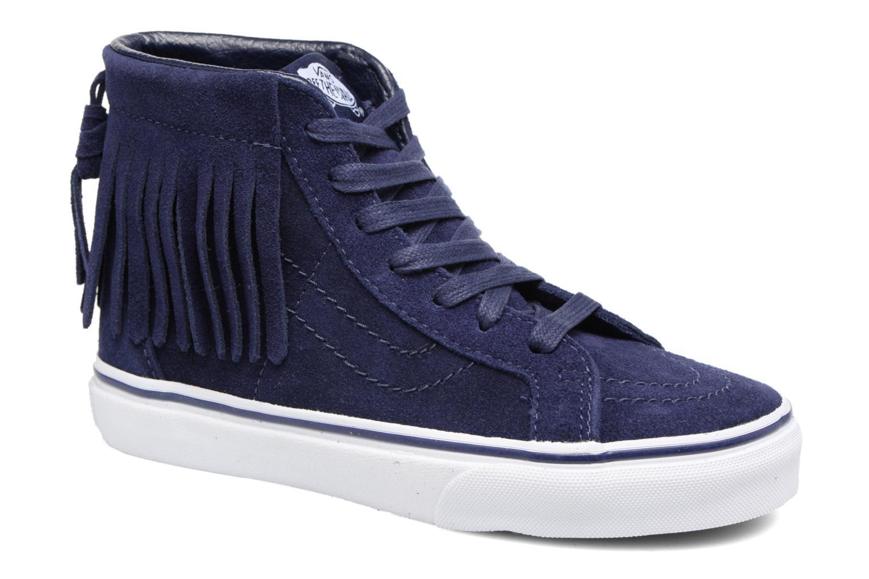 Sneakers Vans SK8-Hi Moc K Azzurro vedi dettaglio/paio