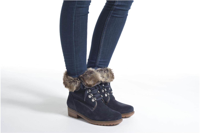 Bottines et boots Ara Kansas 48826 Bleu vue bas / vue portée sac
