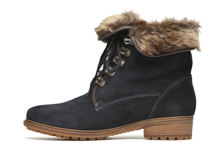 Bottines et boots Ara Kansas 48826 Bleu vue face