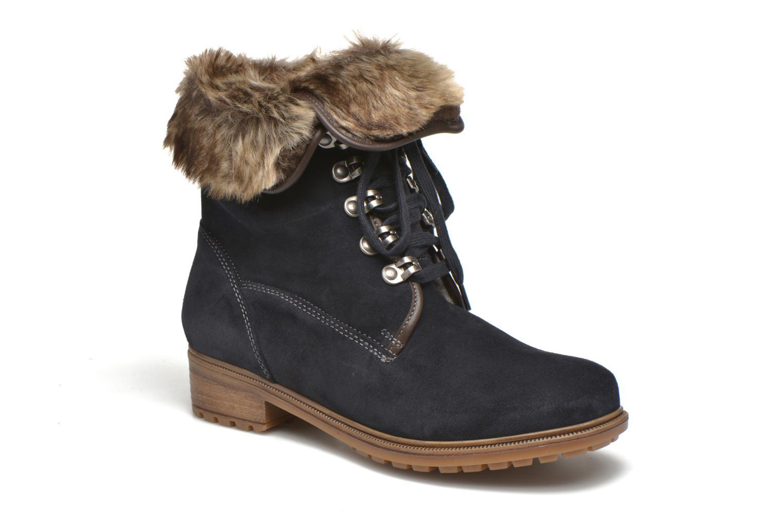 Bottines et boots Ara Kansas 48826 Bleu vue détail/paire