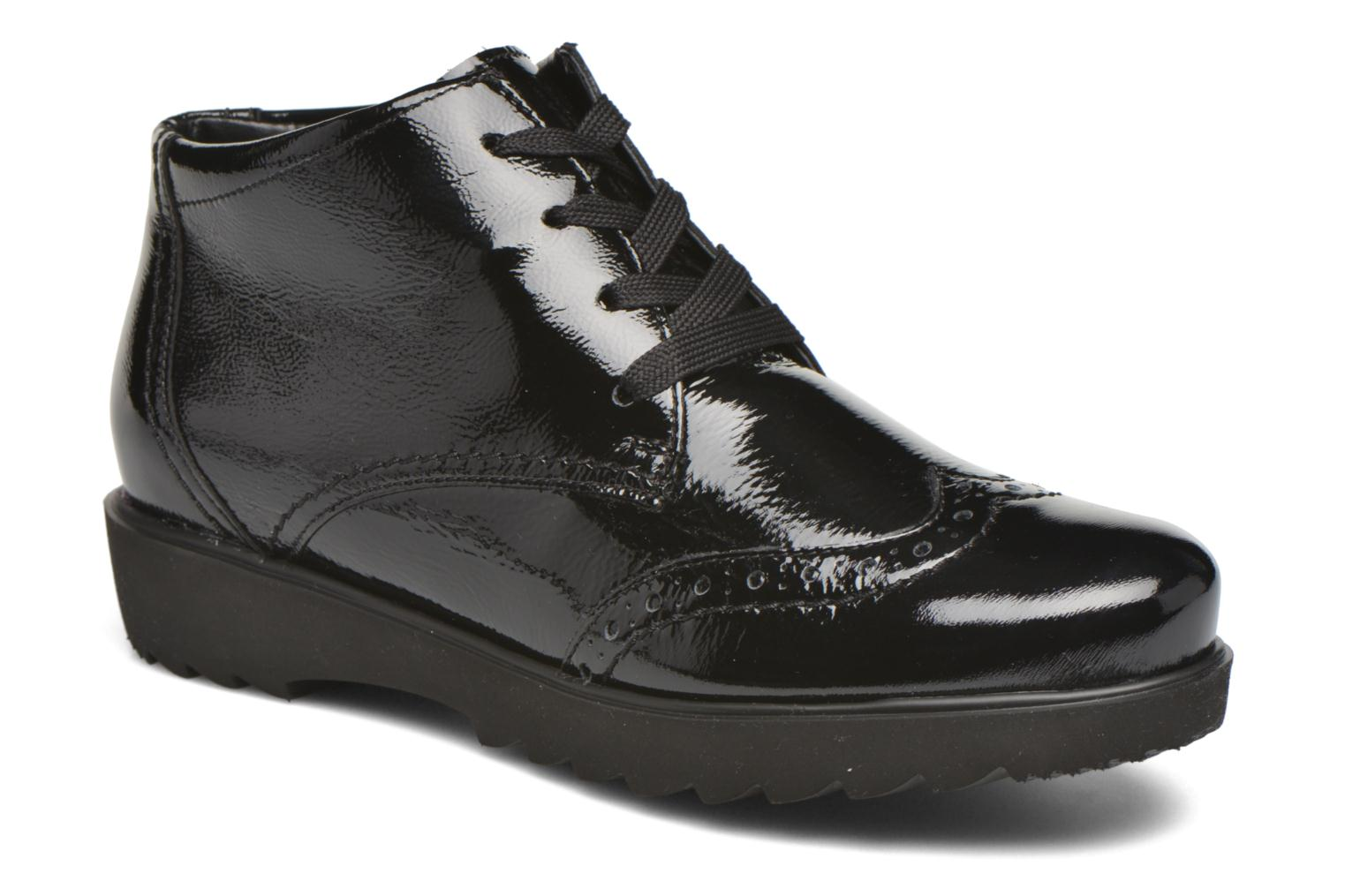 Lace-up shoes Ara Malmo 41570 Black detailed view/ Pair view