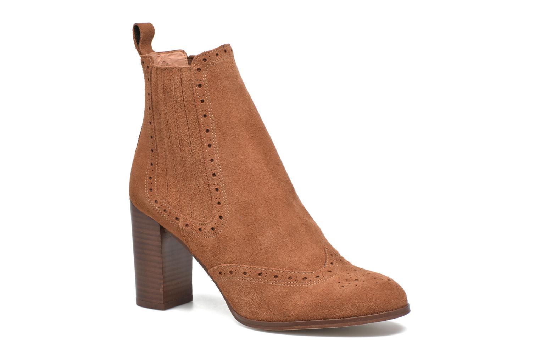 Bottines et boots Jonak Dulmy Marron vue détail/paire