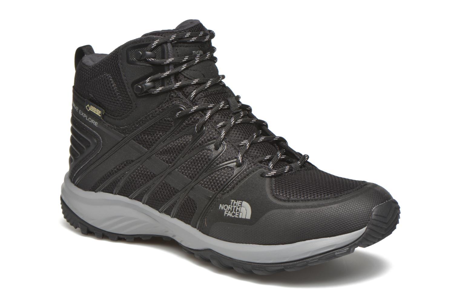 Chaussures de sport The North Face M Litewave Explore Mid GTX Noir vue détail/paire