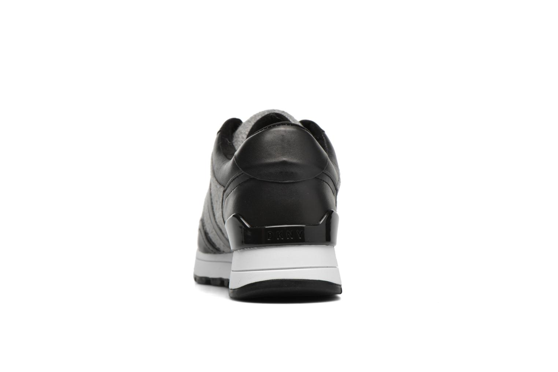 Baskets DKNY Jamie sport- lace runner Noir vue droite