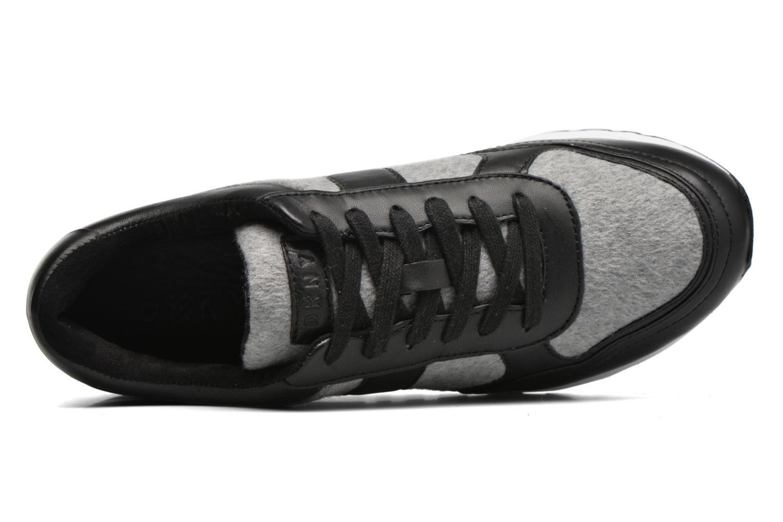 Baskets DKNY Jamie sport- lace runner Noir vue gauche