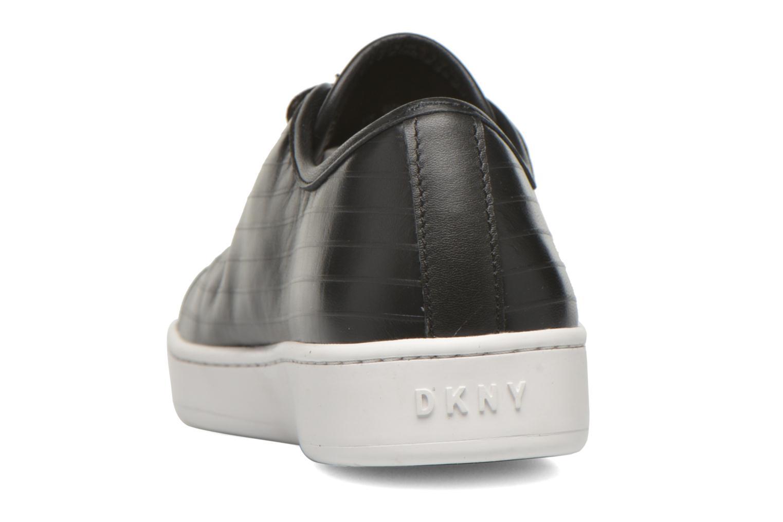 Baskets DKNY Brayden Classic court Noir vue droite