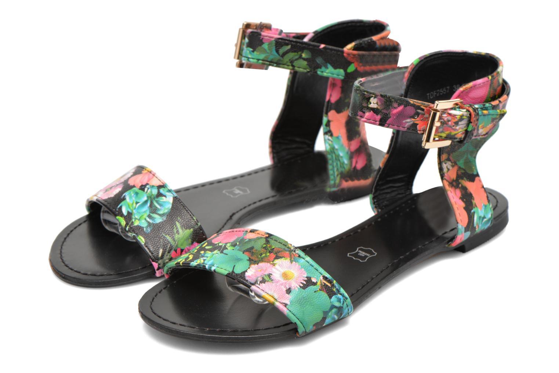 Sandales et nu-pieds Divine Factory Minita Multicolore vue 3/4