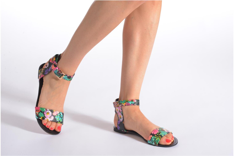Sandales et nu-pieds Divine Factory Minita Multicolore vue bas / vue portée sac