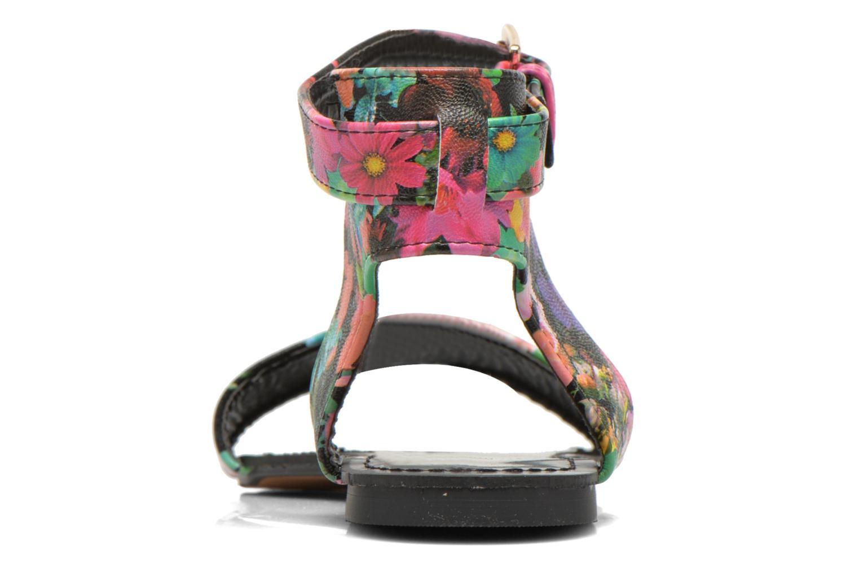 Sandales et nu-pieds Divine Factory Minita Multicolore vue droite