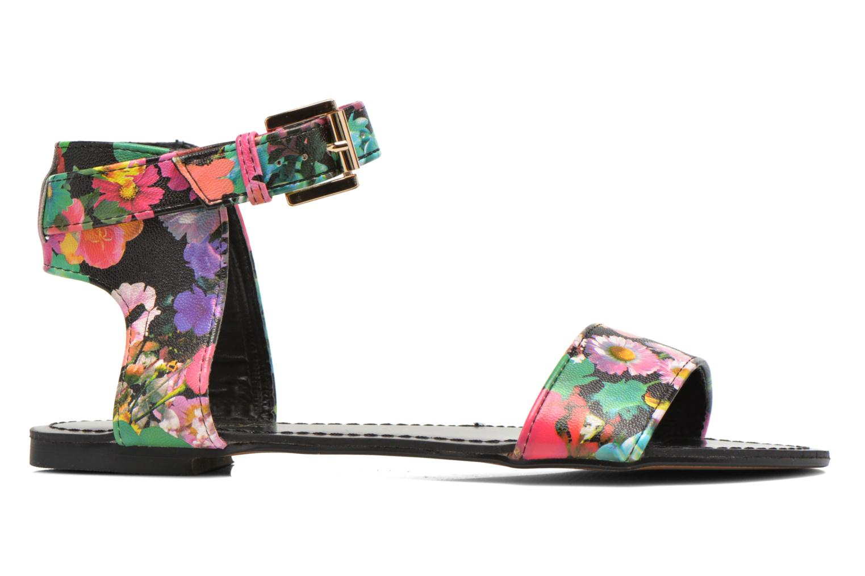 Sandales et nu-pieds Divine Factory Minita Multicolore vue derrière