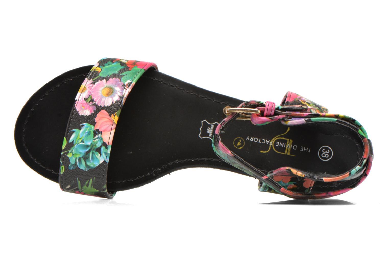 Sandales et nu-pieds Divine Factory Minita Multicolore vue gauche