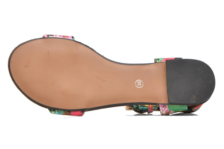 Sandales et nu-pieds Divine Factory Minita Multicolore vue haut