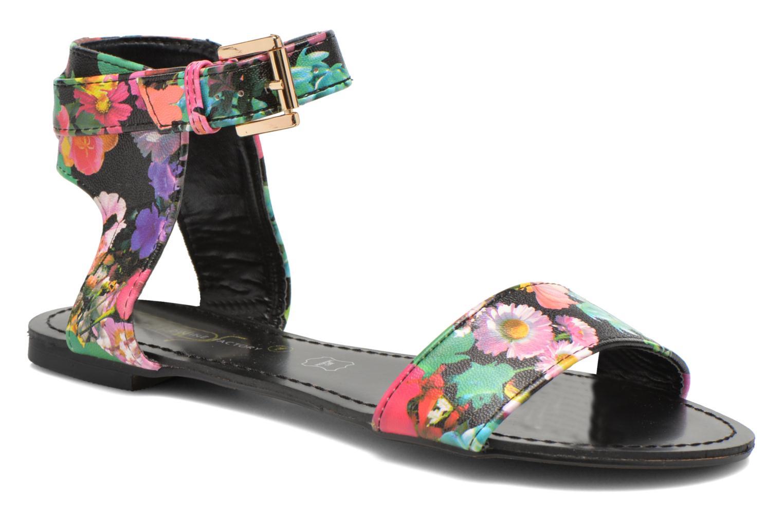 Sandales et nu-pieds Divine Factory Minita Multicolore vue détail/paire
