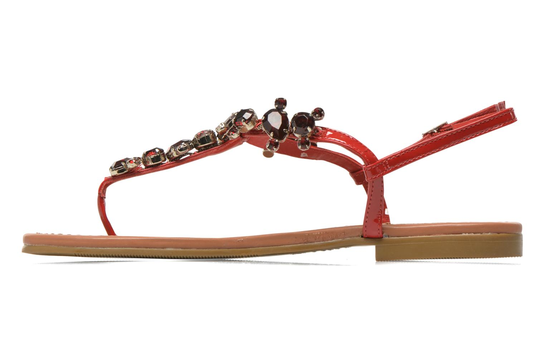 Sandales et nu-pieds Buffalo Manzi Rouge vue face