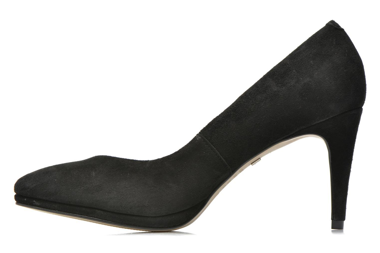 Zapatos de tacón Buffalo Leonce Negro vista de frente