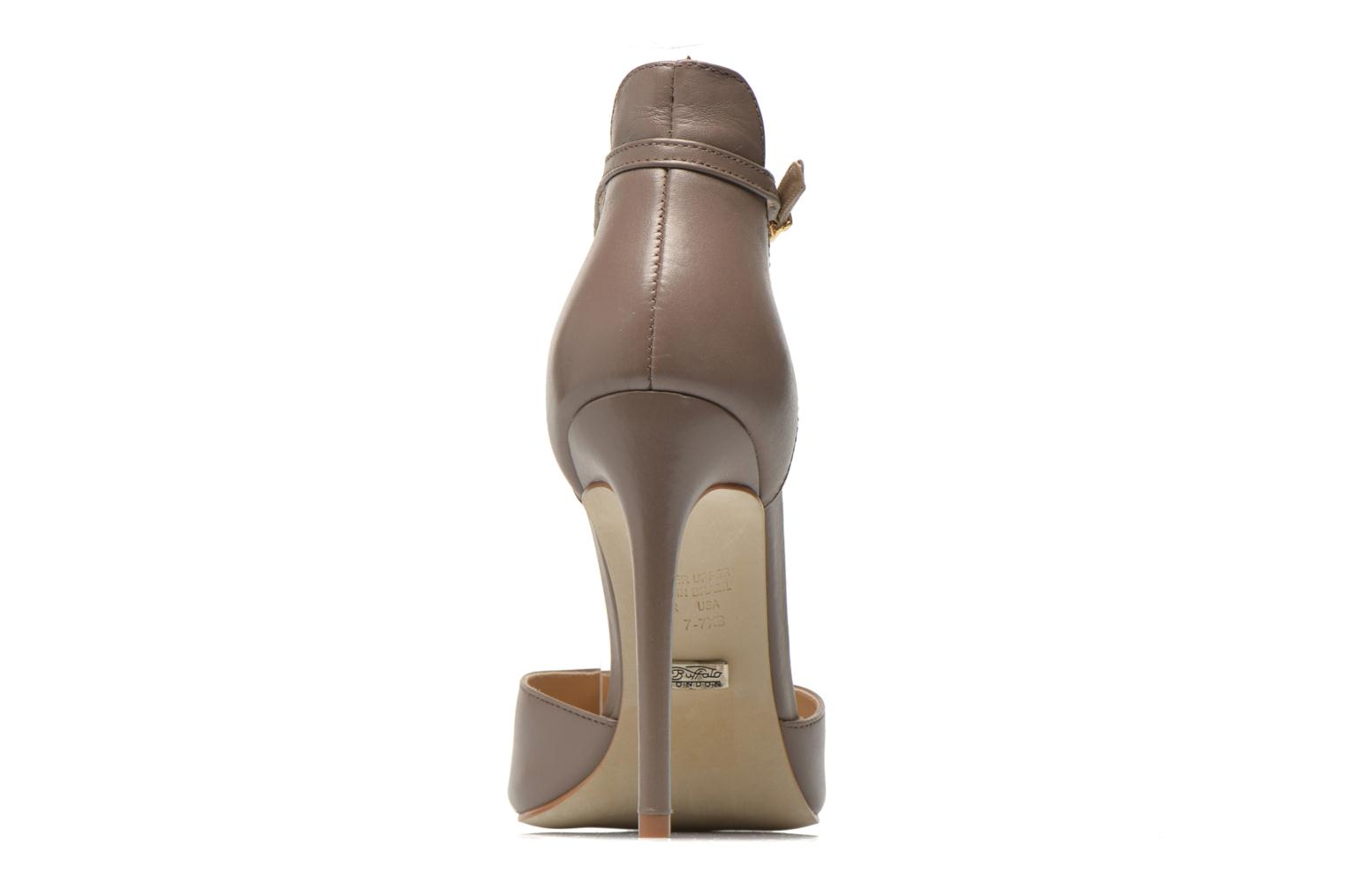 High heels Buffalo Grazia Brown view from the right