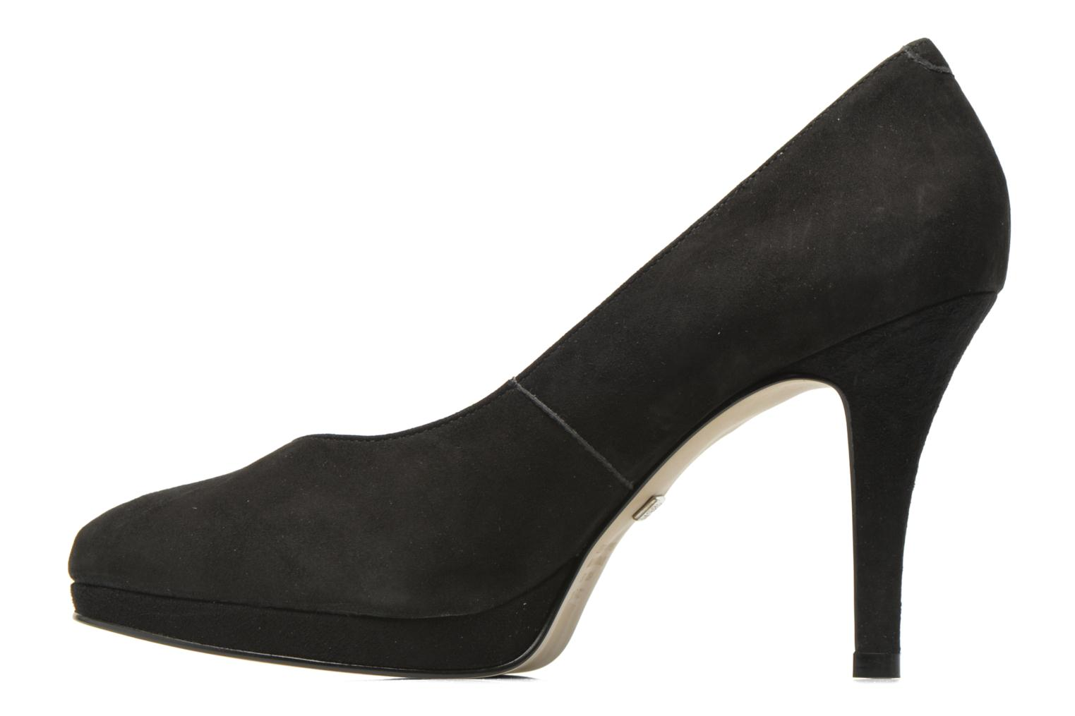 High heels Buffalo Unai Black front view