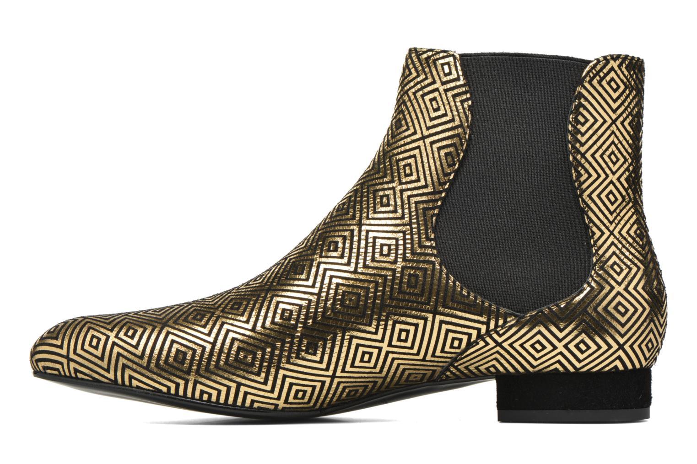 Bottines et boots Mellow Yellow Aterix Or et bronze vue face