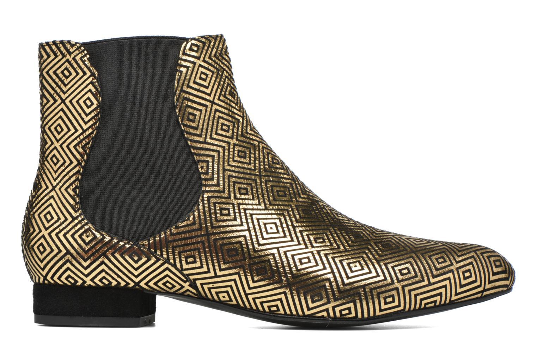 Bottines et boots Mellow Yellow Aterix Or et bronze vue derrière
