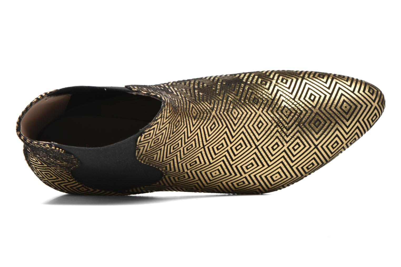 Bottines et boots Mellow Yellow Aterix Or et bronze vue gauche