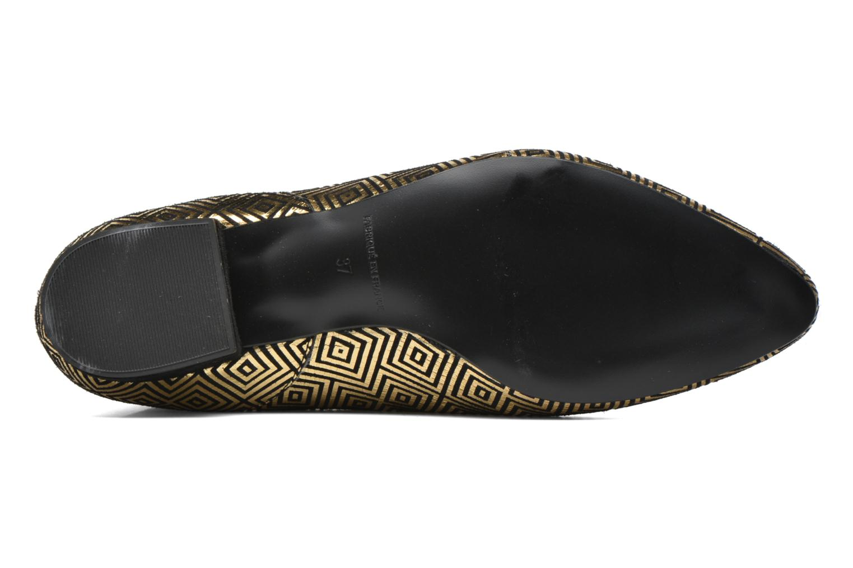 Bottines et boots Mellow Yellow Aterix Or et bronze vue haut