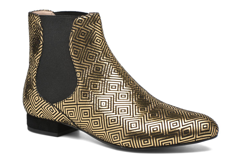 Bottines et boots Mellow Yellow Aterix Or et bronze vue détail/paire